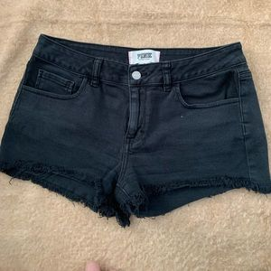 """Pink"" by VS Black denim cut off shorts"